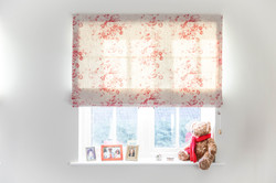 Cabbages & Roses Roman Blind Suffolk
