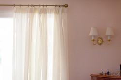 Linen Sheer curtains Suffolk