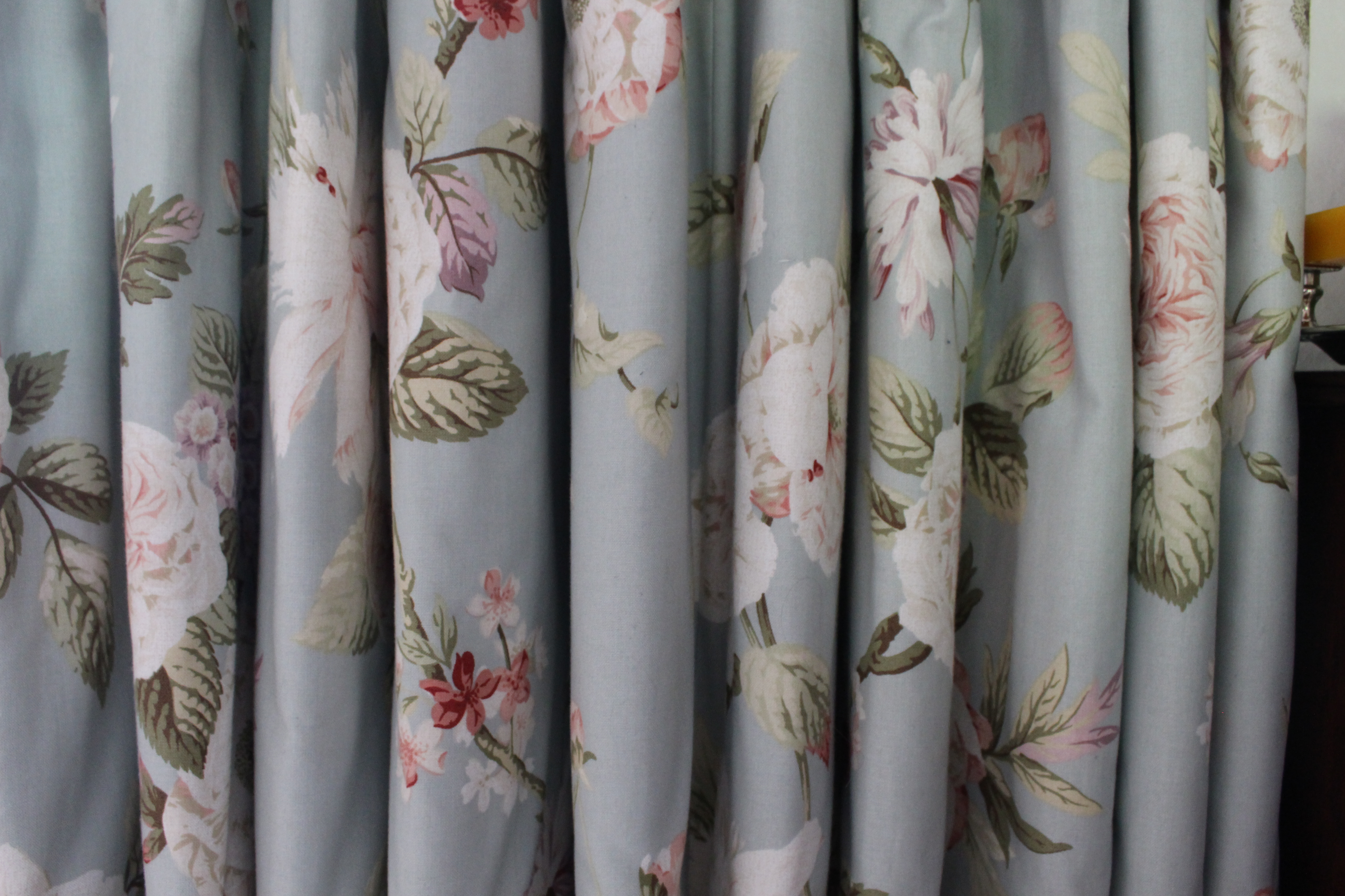 Floral Curtains Suffolk