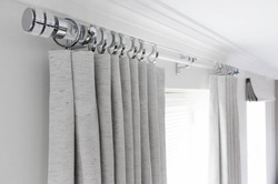Interlined Inverted Pleat Curtains Suffolk