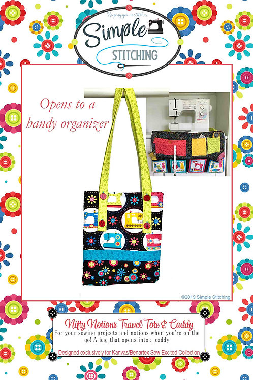 Nifty Notions Travel Tote & Caddy Pattern