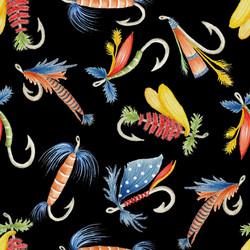 Fishing Lures Fabric for Benartex