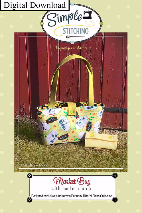 Rise 'N Shine Market Bag Digital Download