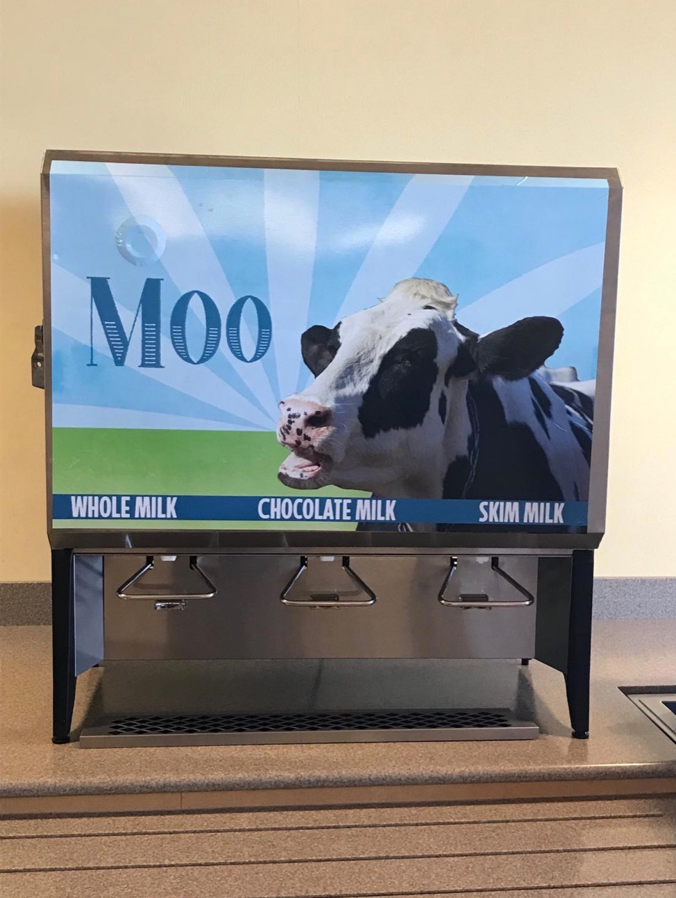 Milk Dispenser Decal