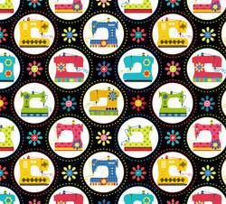 Sewing machine Fabric for Benartex