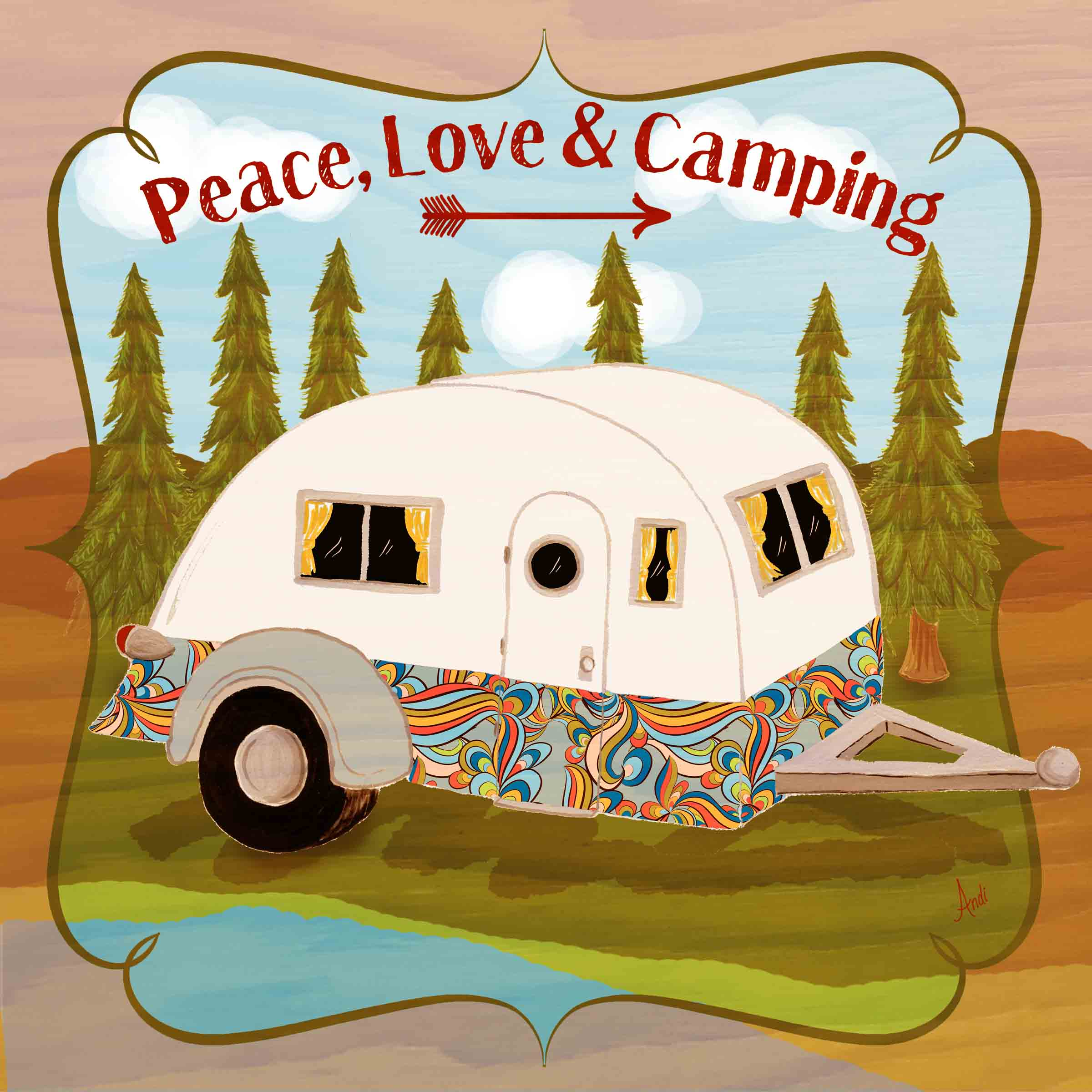 Peace, Love and Camping