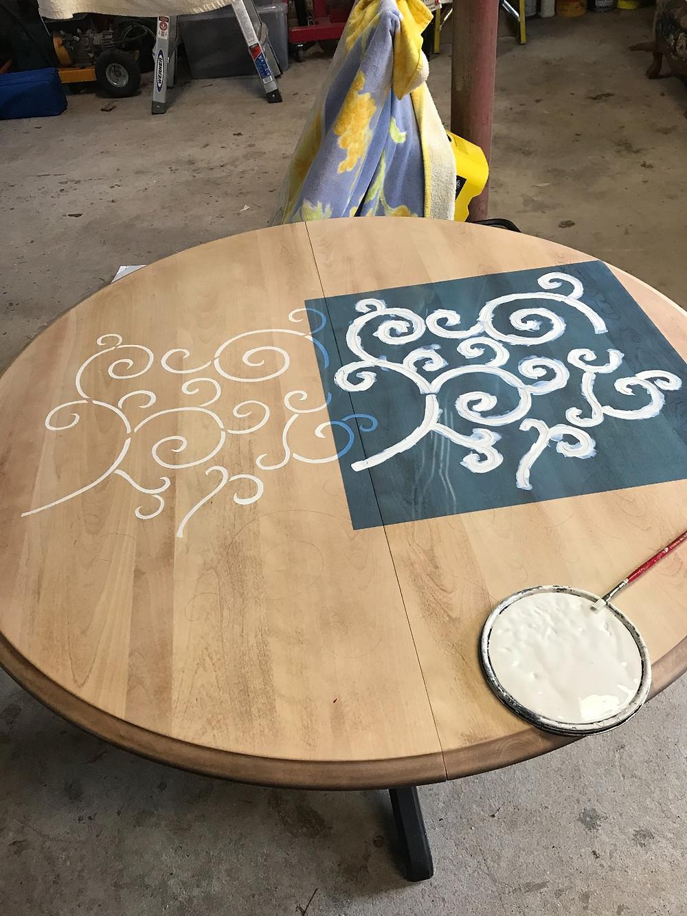 Stencil Table