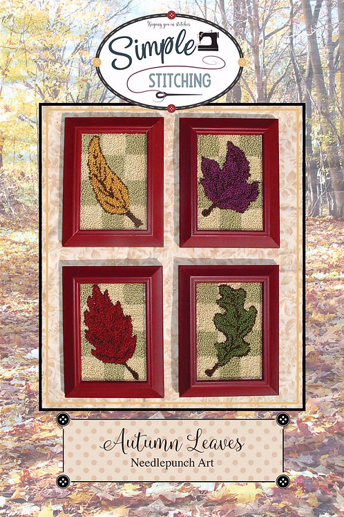 Autumn Leaves Needlepunch Pattern