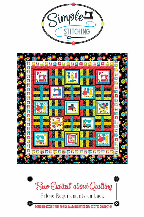 """Sew Excited"" about Quilting Pattern"