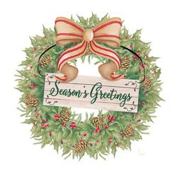 Heartland Holiday Wreath