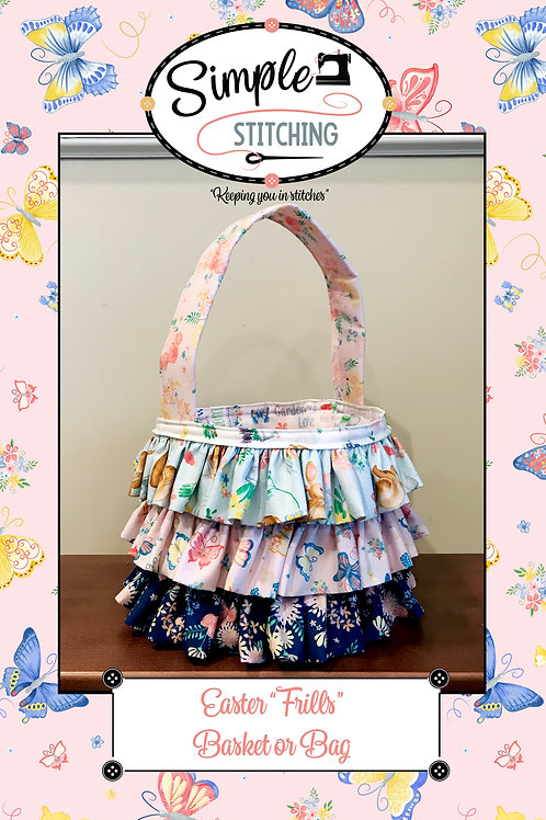 Easter Frilly Bag
