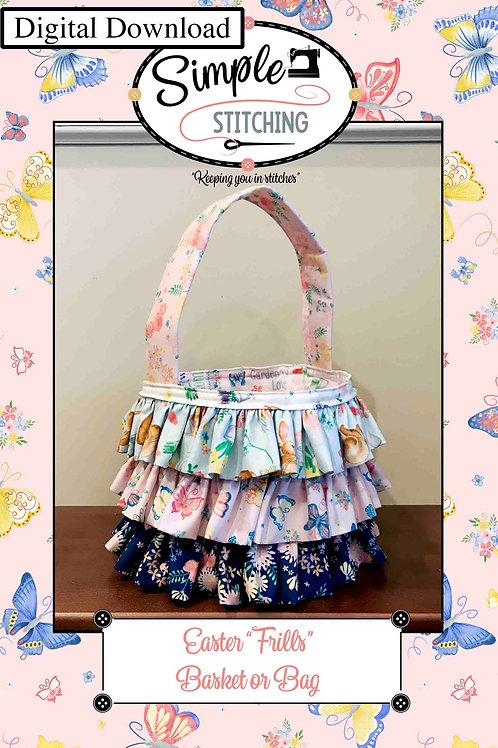 Easter Frilly Bag or Basket