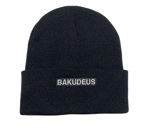 UNISEX BAKUDEUS BEANIE - BLACK