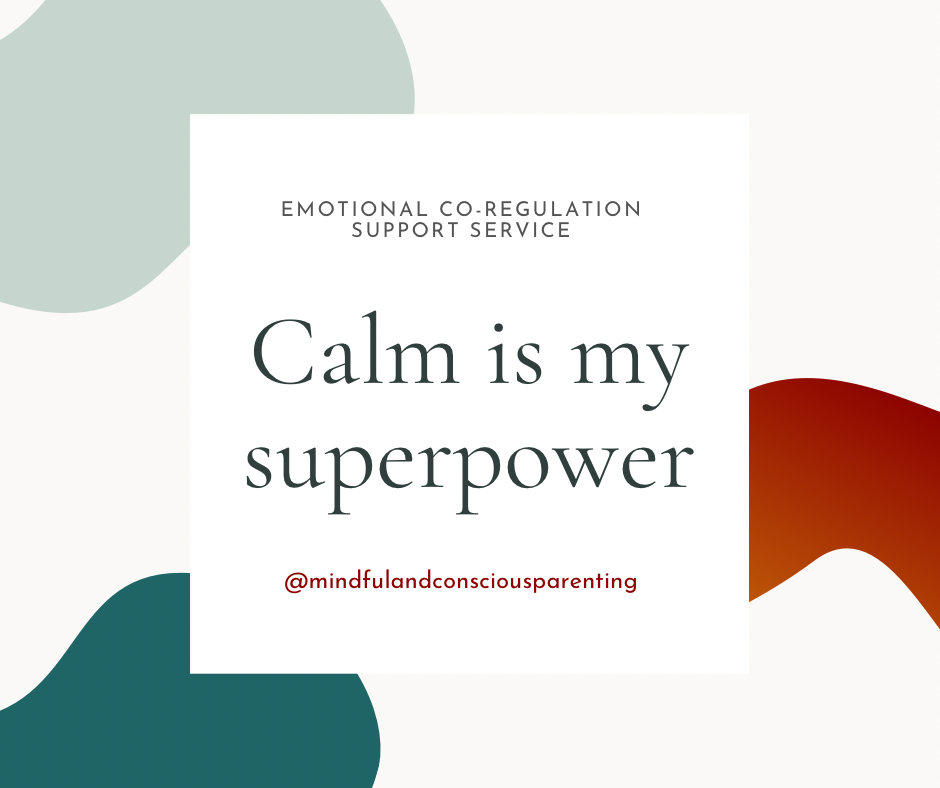 Calm is my superpower