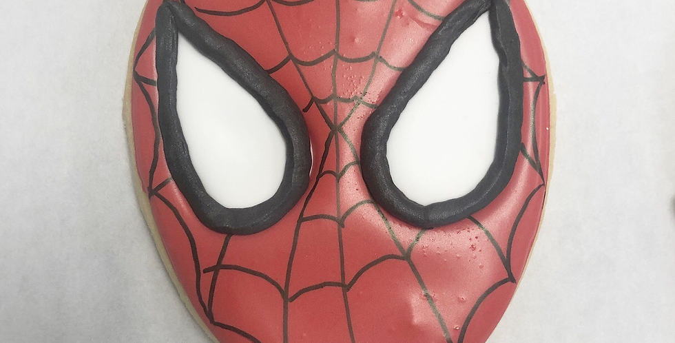 Spider-Man Sugar Cookie