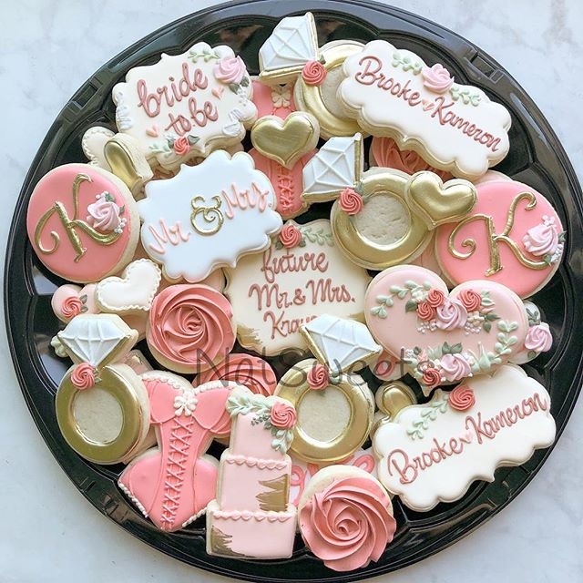 Bridal shower platter 💕_._._