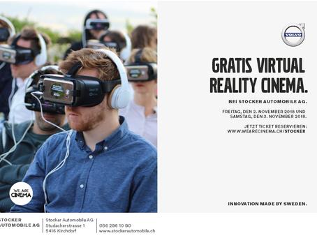 Dank Volvo gratis ins VR Cinema!