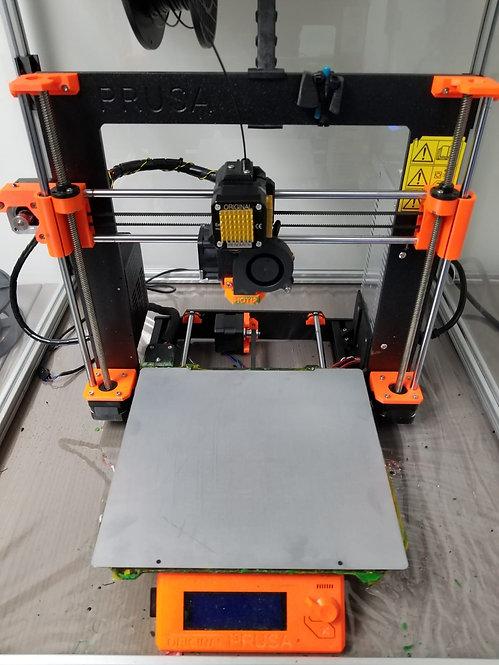 Dust'N'Print   Galvannealed Bed