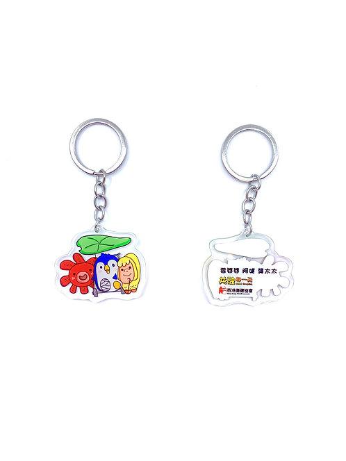 鑰匙扣(阿健、蓉婆婆、龔太太)