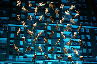Actuació de la Fura dels Baus per la Festa Major de Badalona