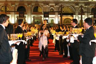 Sopar de gala a l'Estació de França