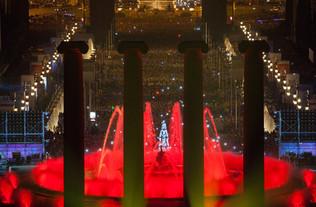 Espectacle de Cap d'any. Barcelona