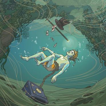 deep on the ocean