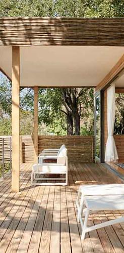 Private island treehouse at Victoria Falls