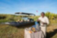 Drinks Stop, Nxabega Okavango Tented Cam