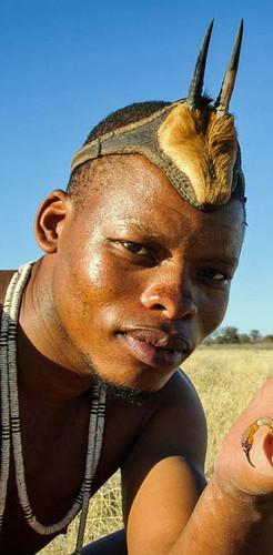 Cultural experience at Kalahari Plains