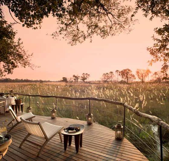 Sandibe Okavango Safari Lodge