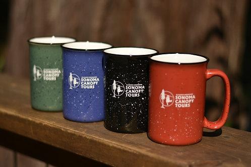 Sonoma Canopy Tours Ceramic Mug