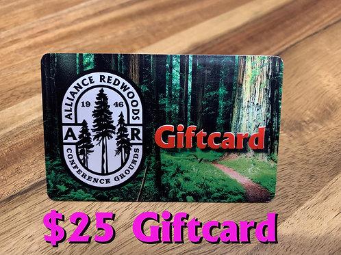 $25 Alliance Redwoods Gift Card