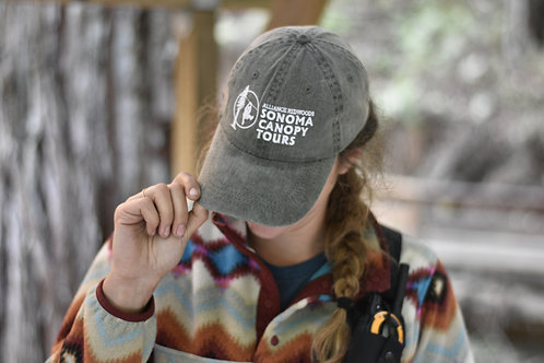 Sonoma Canopy Tours Hunter Green Hat
