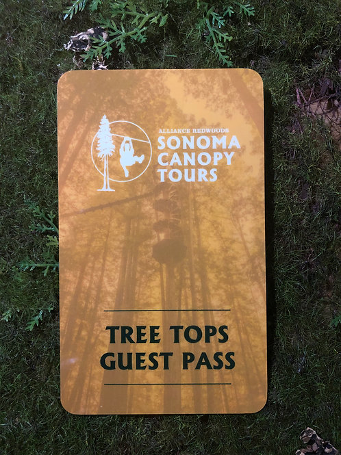 2020 Tree Tops Guest Pass