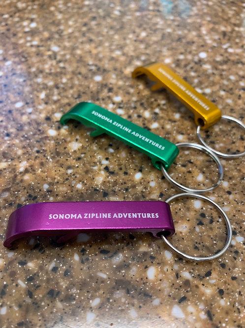Sonoma Zipline Adventures Bottle Opener