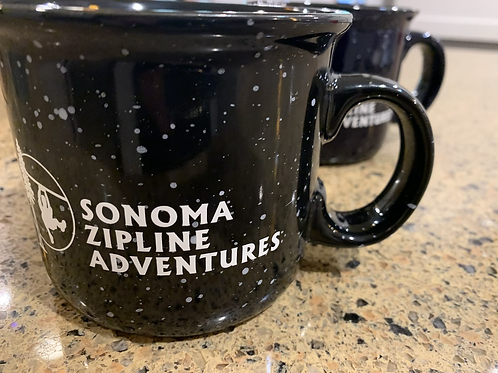 Sonoma Zipline Adventures ceramic camper mug