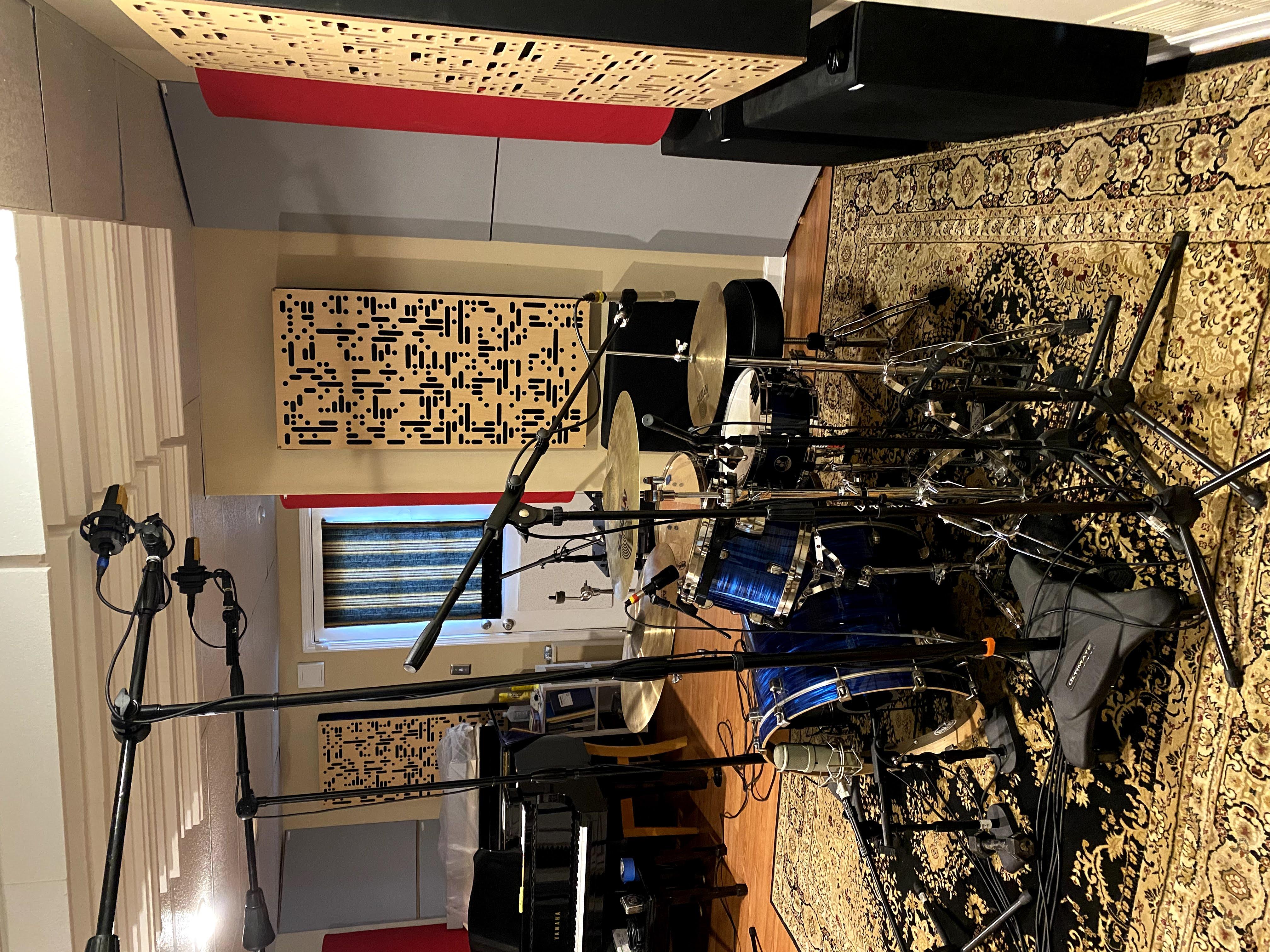 Live room drums