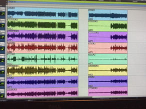 Stay organized by colorizing the tracks in Pro Tools