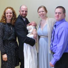 Baptism of Oskar James