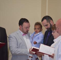 Baptism of Hunter Britt