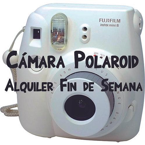 Alquiler Cámara Polaroid Fin de Semana