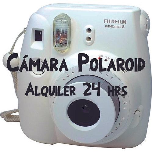 Alquiler Cámara Polaroid 24 horas