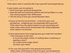 Poetry workshop write-up