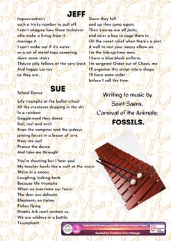 Week 16 writing to music - Saint Saens -