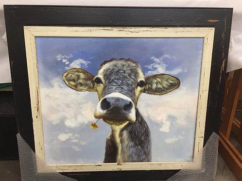 Oil on Canvas Daisy the Cow