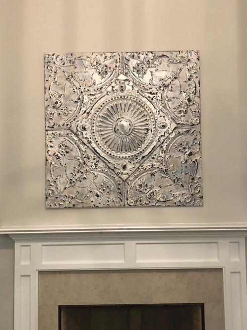 Architectural Ceiling Tile Art