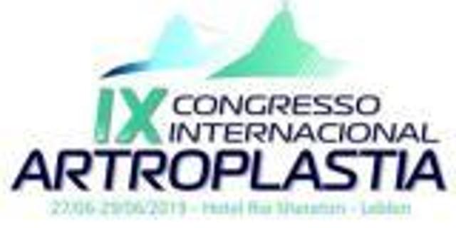 IX Congresso Internacional de Artroplastia