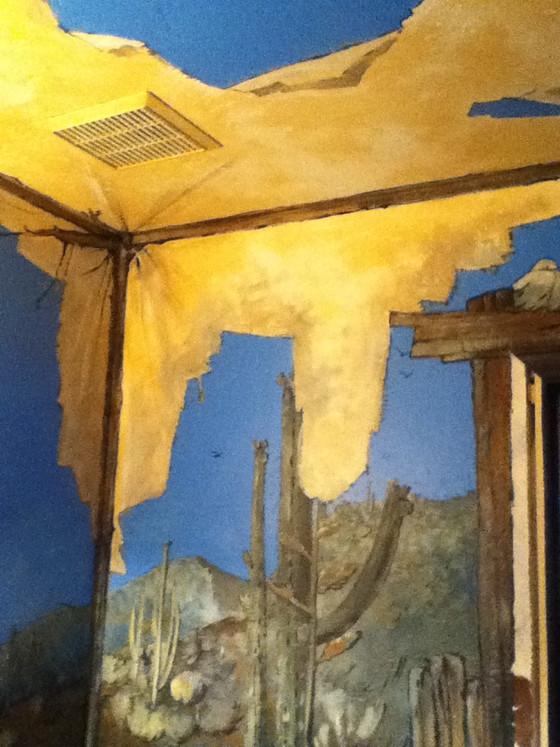 A few murals exhibit a range of styles