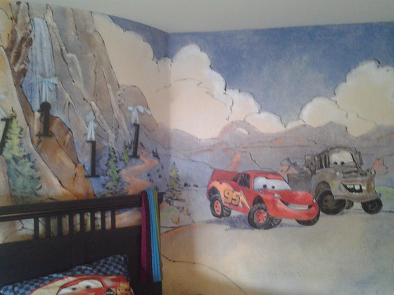 Fanciful children's rooms
